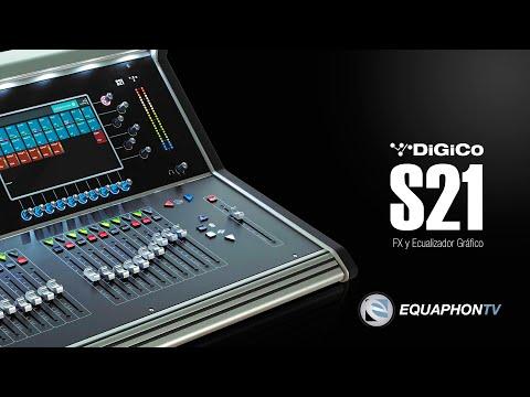 DiGiCo S21 - FX y Ecualizador Gráfico