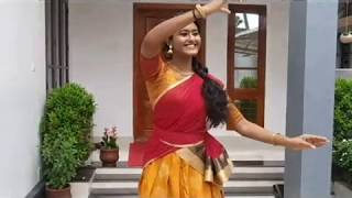 Mouliyil Mayilpeeli   Dance   Nandanam   International Dance Day 2020   Semiclassical Dance