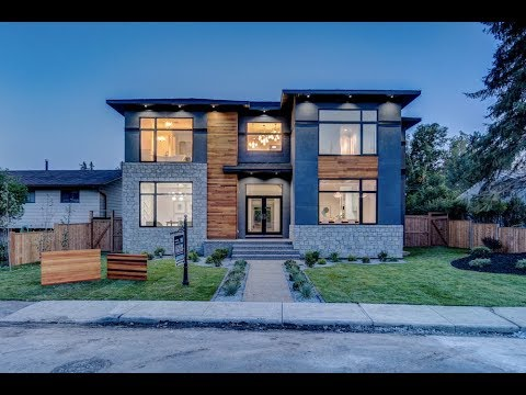 Contemporary Calgary Home Real Estate Property Video Tour -