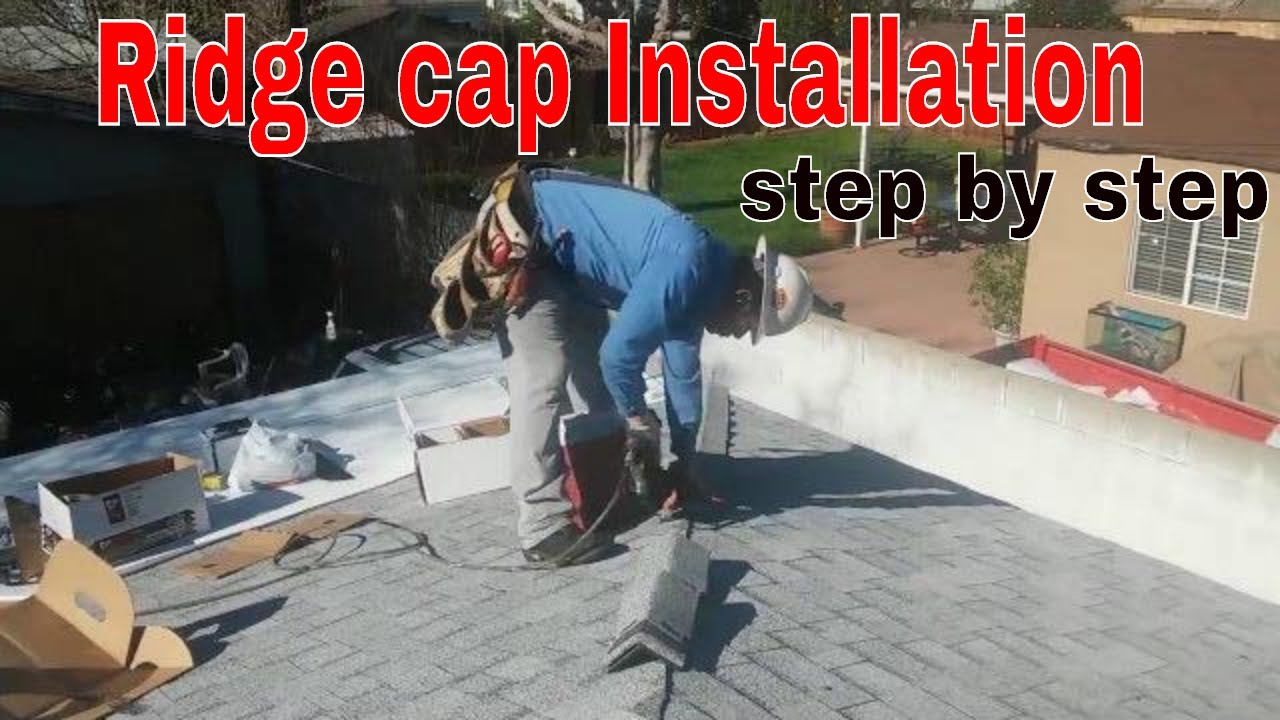 RIDGE CAP SHINGLES INSTALLATIONstep by step explained in details – How To Install Roof Cap Shingles