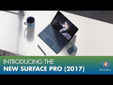 Introducing The New Surface Pro (2017)