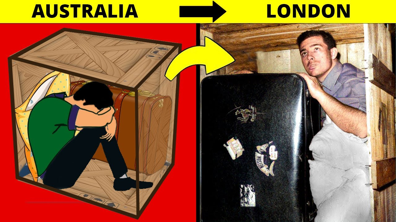 Man Mailed Himself in a Box From Australia to London, What Happens Next Will Shock You !