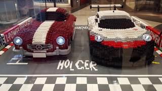 독일 쇼핑몰에 전시된 레고들,  LEGOs in a G…