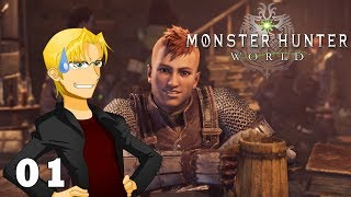 AN IDIOT PLAYS MONSTER HUNTER! | Let's Play Monster Hunter World - Part 1