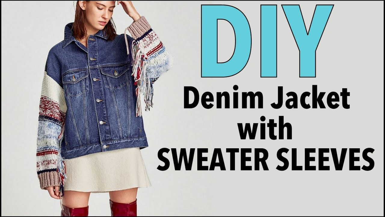 [VIDEO] - DIY: How To Change Sleeves on a Jean Jacket (DENIM JACKET UPGRADE)- By Orly Shani 5