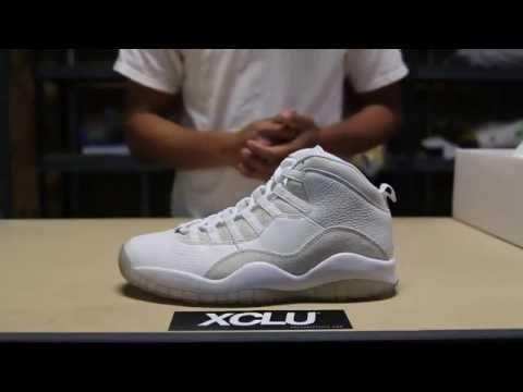 7cb3446d83161 OVO Air Jordan 10 Review - YouTube