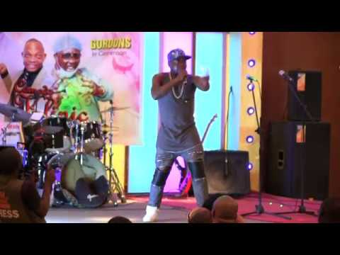 Zakary Longmop in Live Humour Show Cameroon - Buea