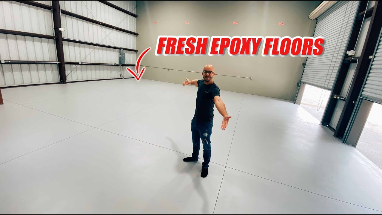 I Did Epoxy Floors In My New Garage