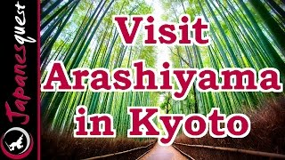 Arashiyama in Kyoto Tour! - Video Japan Guide(Arashiyama is a touristy district in the western outskirts of Kyoto. This area has been a very popular destination for Japanese tourists, especially in spring for the ..., 2015-01-17T23:46:00.000Z)