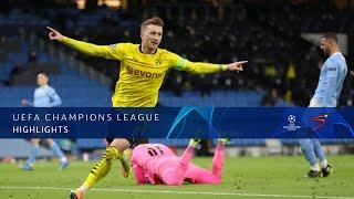 UEFA Champions League | QF | 1st Leg | Manchester City v Borussia Dortmund | Highlights