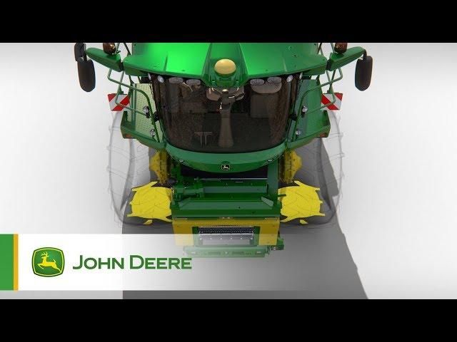 John Deere - Série 8000 - Traction supérieure