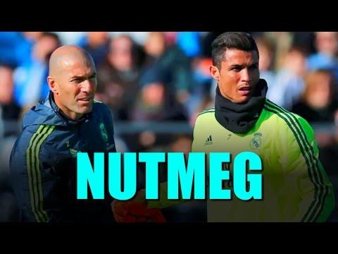 Ronaldo Tries To Nutmeg Zidane In Practice - Real Madrid