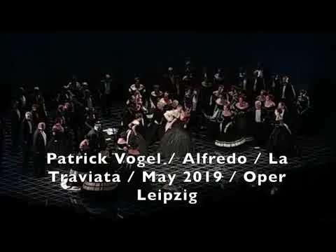 Patrick Vogel - Tenor / Alfredo / La Traviata / May 2019