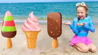 Nastya and the stories about Ice Cream