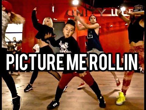 Chris Brown - PICTURE ME ROLLIN' - Choreography by @NikaKljun
