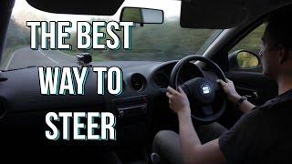 Car Steering: Shuffle oŗ Cross? The Best Way to Steer