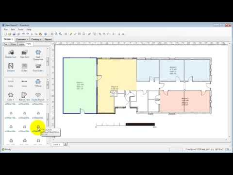 Plandroid Air Conditioning Design Software Overview