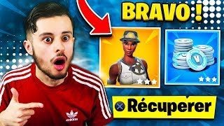 I'm a SECRET COMPENSE FOR THE PASSAGE LIVE 100 ON FORTNITE! I'M SHOCKED... 😱