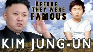 Kim Jung-un -  Before They Were Famous
