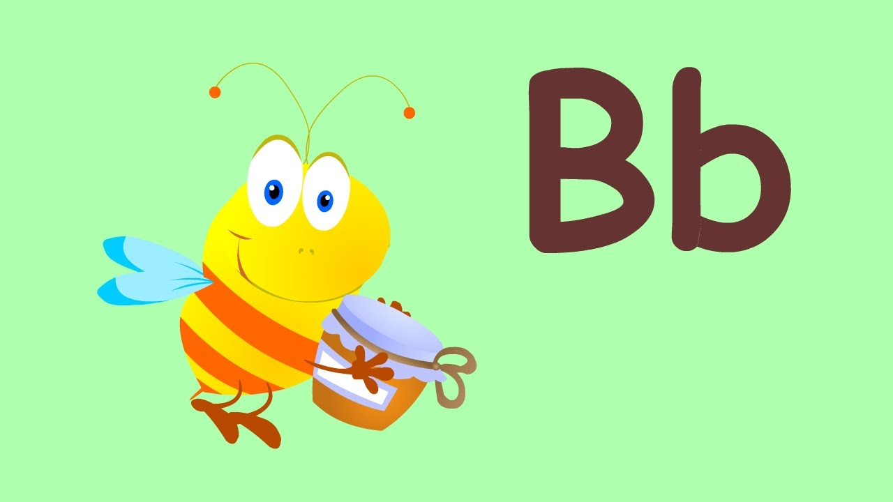 letter b song bee song english alphabet for kids youtube