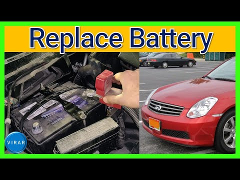 How to [EASILY] Replace the Battery – Infiniti G35 (2003-2006)