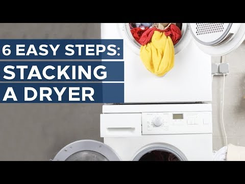 How To Stack Your Washer And Dryer | Sears