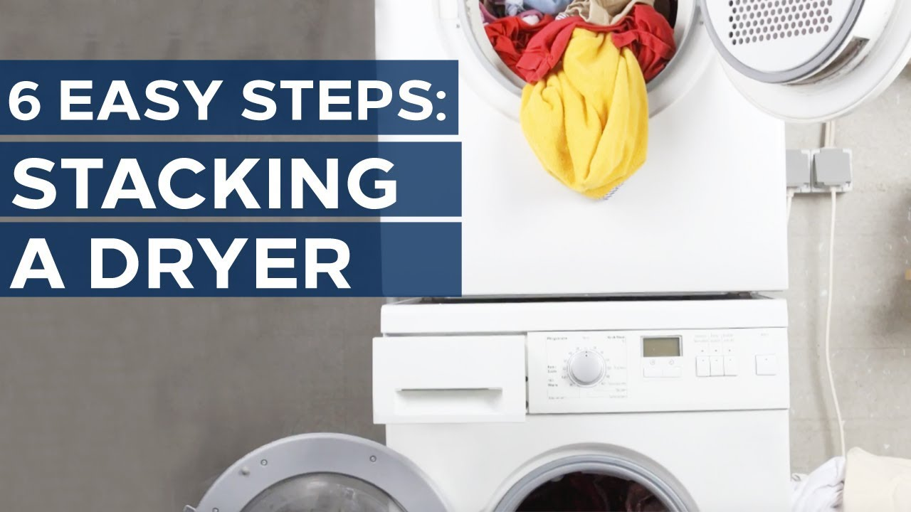 How to Stack Your Washer and Dryer - Get appliance insights on ...