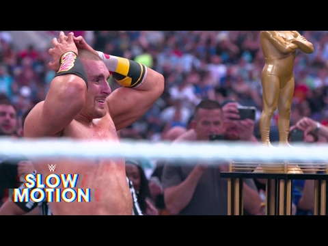 Thumbnail: Amazing slow-motion footage of the Andre Battle Royal: Exclusive, April 2, 2017