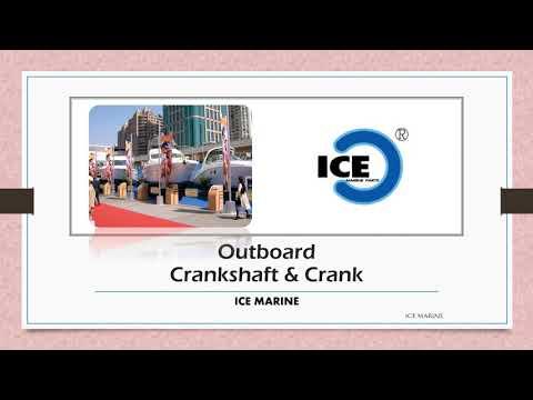 Outboard Crankshaft Crank