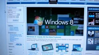 Windows 8 on a Laptop