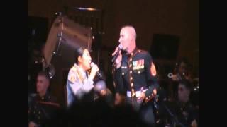 2015年9月19日に沖縄市民会館で行はれた、陸上自衛隊第15音楽隊と...