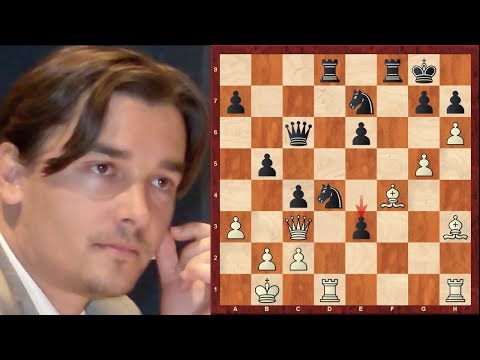GM Alexander Morozevich Top 10 Amazing Chess Sacrifices!