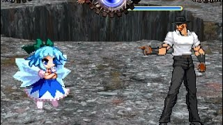 WHO IS THE STRONGEST? | Touhou MUGEN - Cirno vs. Chuck Norris