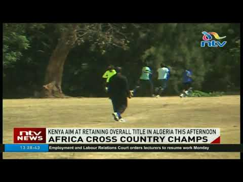 Kenya aims at retaining overall title in Africa cross country championships