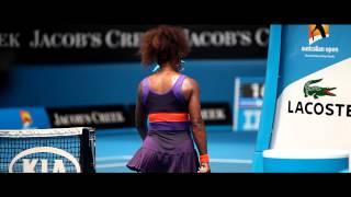 Mini Movie: Serena Williams 'Anklegate' - Australian Open 2013