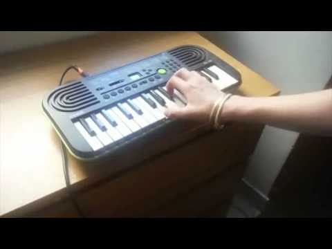 "CASIO SA-46 demo - Francesca Tandoi plays ""I can't help it"" (Micheal Jackson cover)"
