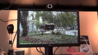 unboxing and overview of the aoc i2360phu ips monitor by totallydubbedhd