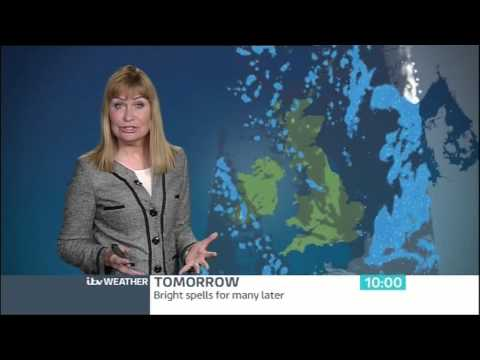 Sian Lloyd  ITV WEATHER   06 Feb 2014  SianWeather