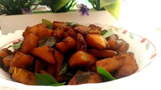 Kadachakka Mezhukkupuratti lll ശീമചക്ക ഉപ്പേരി lll by sumaki cooking
