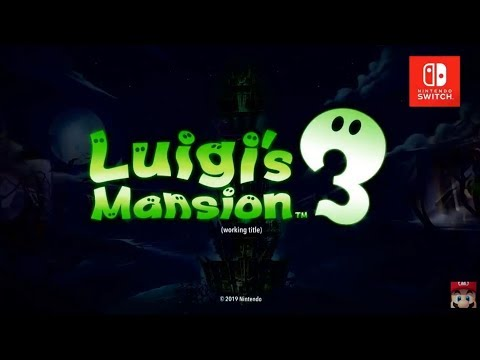 Luigi's Mansion 3 Reveal Trailer - Nintendo Direct