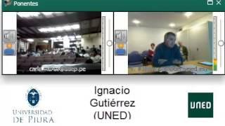 Ignacio Gutiérrez:1er Diálogo Internacional ECJ-J.A. Carrillo, Derechos Humanos