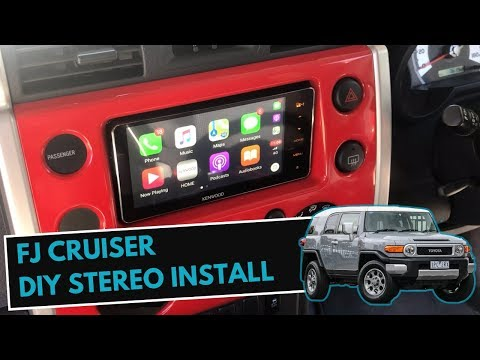 [SCHEMATICS_48IS]  How To Install Stereo in FJ Cruiser   FJ Cruiser Stereo Upgrade & Install  Guide - YouTube   2007 Toyota Fj Cruiser Radio Wiring Diagram      YouTube