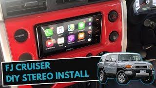 How To Install Stereo in FJ Cruiser | FJ Cruiser Stereo Upgrade & Install Guide