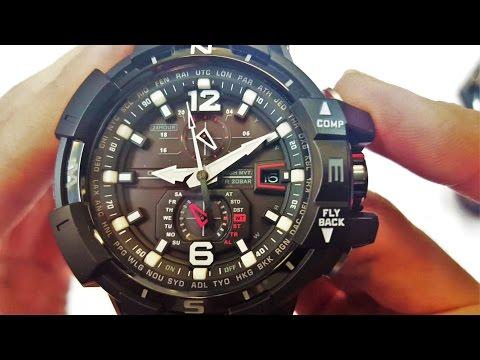 CASIO G-SHOCK WATCH GW-A1100-1ADR UNBOXING