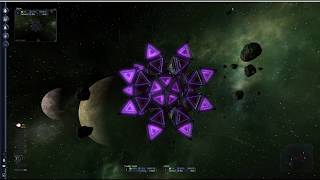 X3: Terran Conflict - capturing the Kha'ak Cluster (game version 1.2.1)