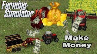 Fs14 Farming Simulator 14 - Make a Money Timelapse