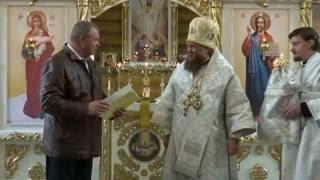 проповедь в день освящения храма св  кн  Бориса и Глеба в селе Багане Новосибирской области 12 октяб