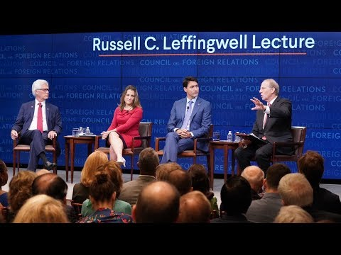 A Conversation With Justin Trudeau, Chrystia Freeland, and Jim Carr