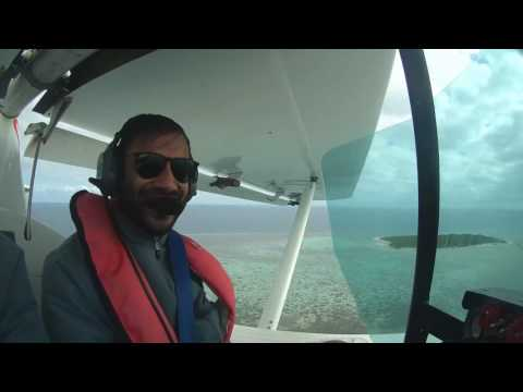 Ultralight Flight over the beautiful waters of New Caledonia