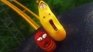 LARVA - ROLLER COASTER | Cartoon Movie | Cartoons For Children | Larva Cartoon | LARVA Official